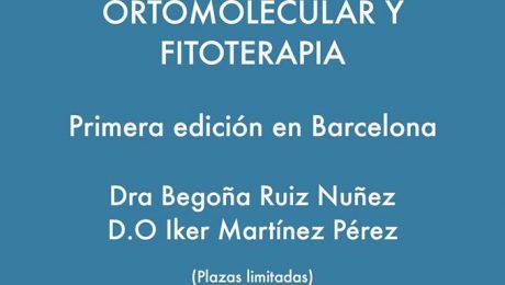 Formación en Terapia Ortomolecular y Fitoterapia en Barcelona