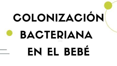 Colonización bacteriana en el bebé