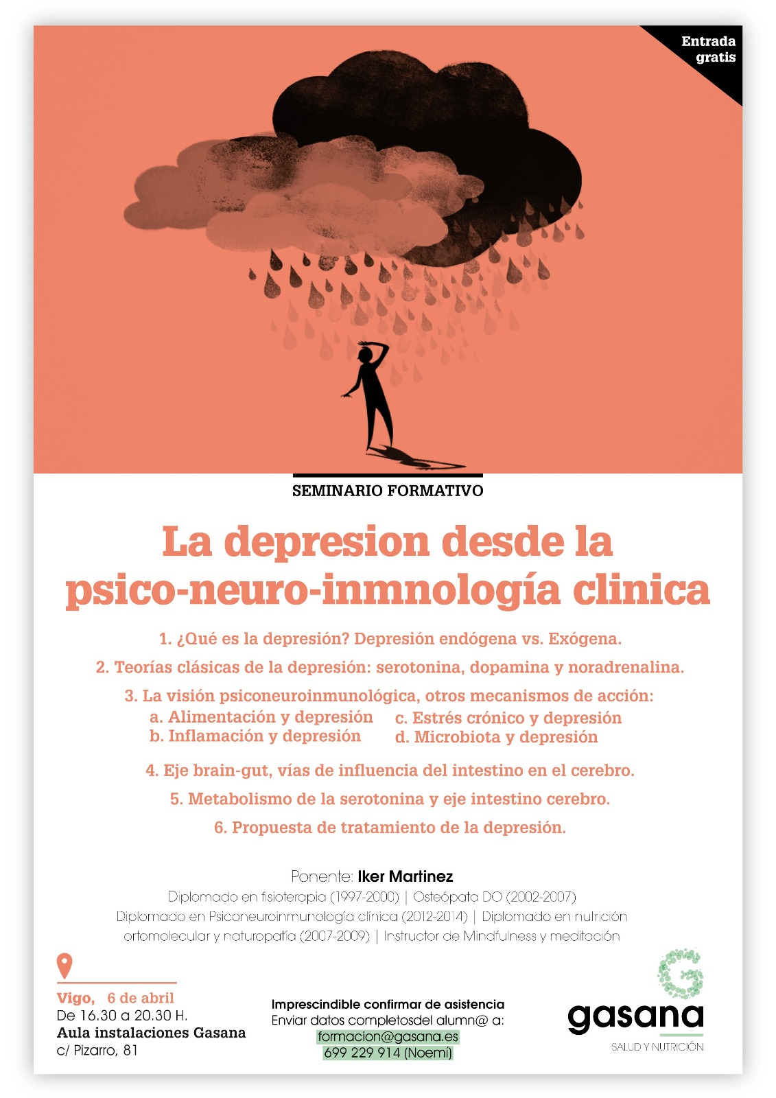 Cartel charla Vigo Iker