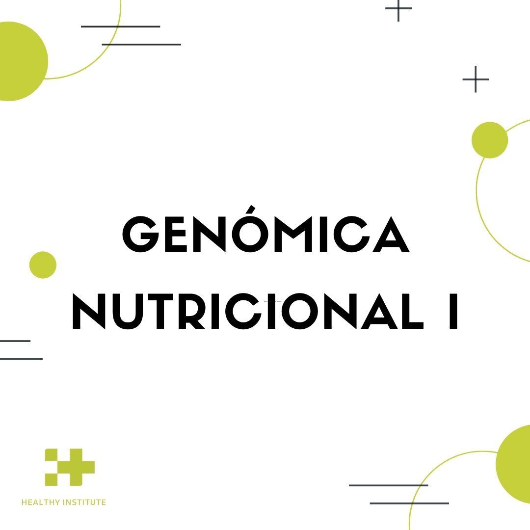 Genómica nutricional I