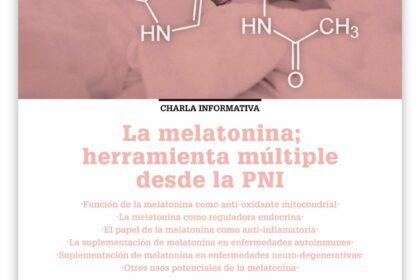Cartel melatonina Bego Oviedo mayo 2018