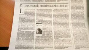 Texto Begoña Ruiz Respuesta Elena Chacón