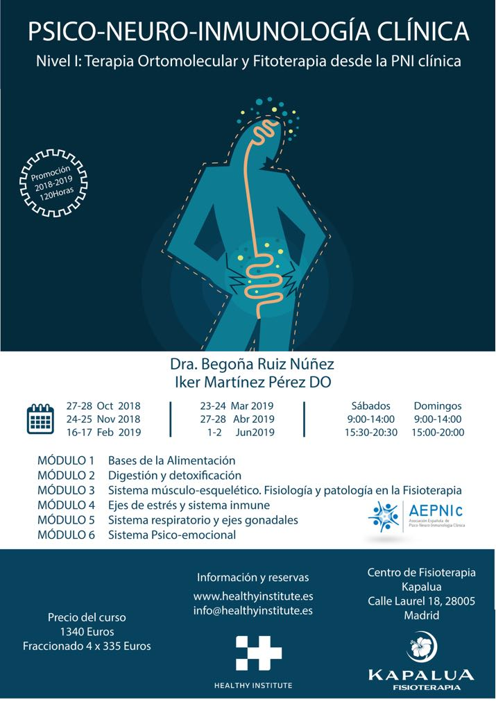 Cartel PNIc I Madrid 2018:19