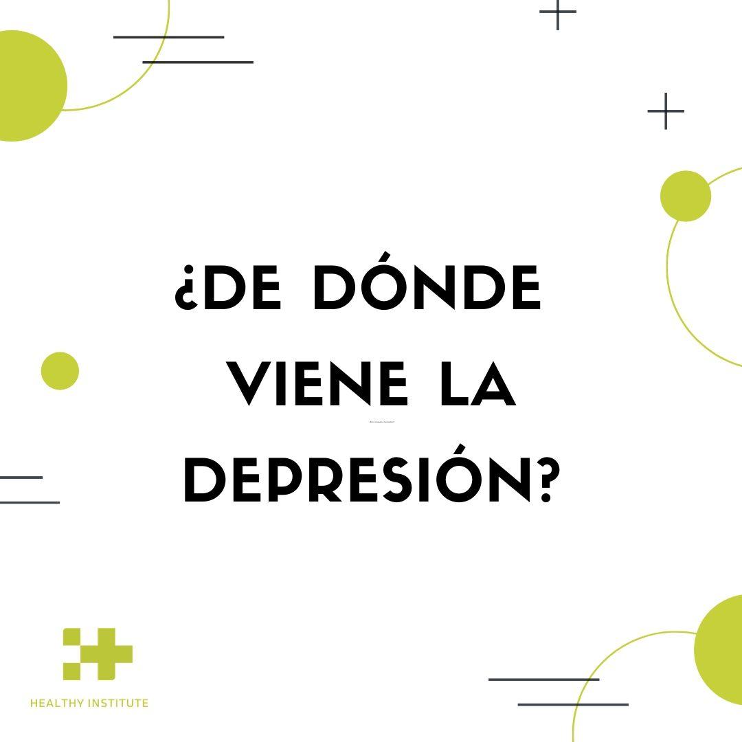 de dónde viene la depresión