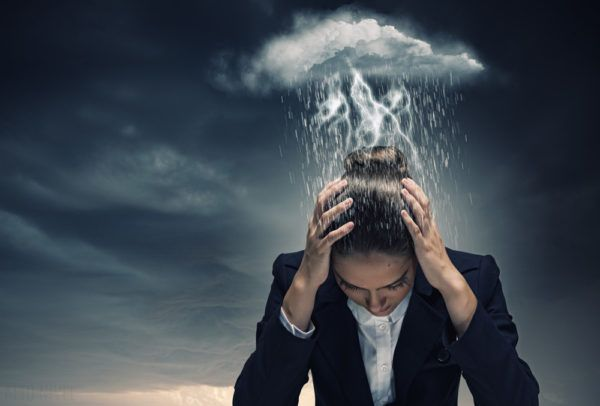 depresión nube