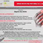 nvitación jornada inflamación y cicatrización Plantapol con Dra. Ruiz