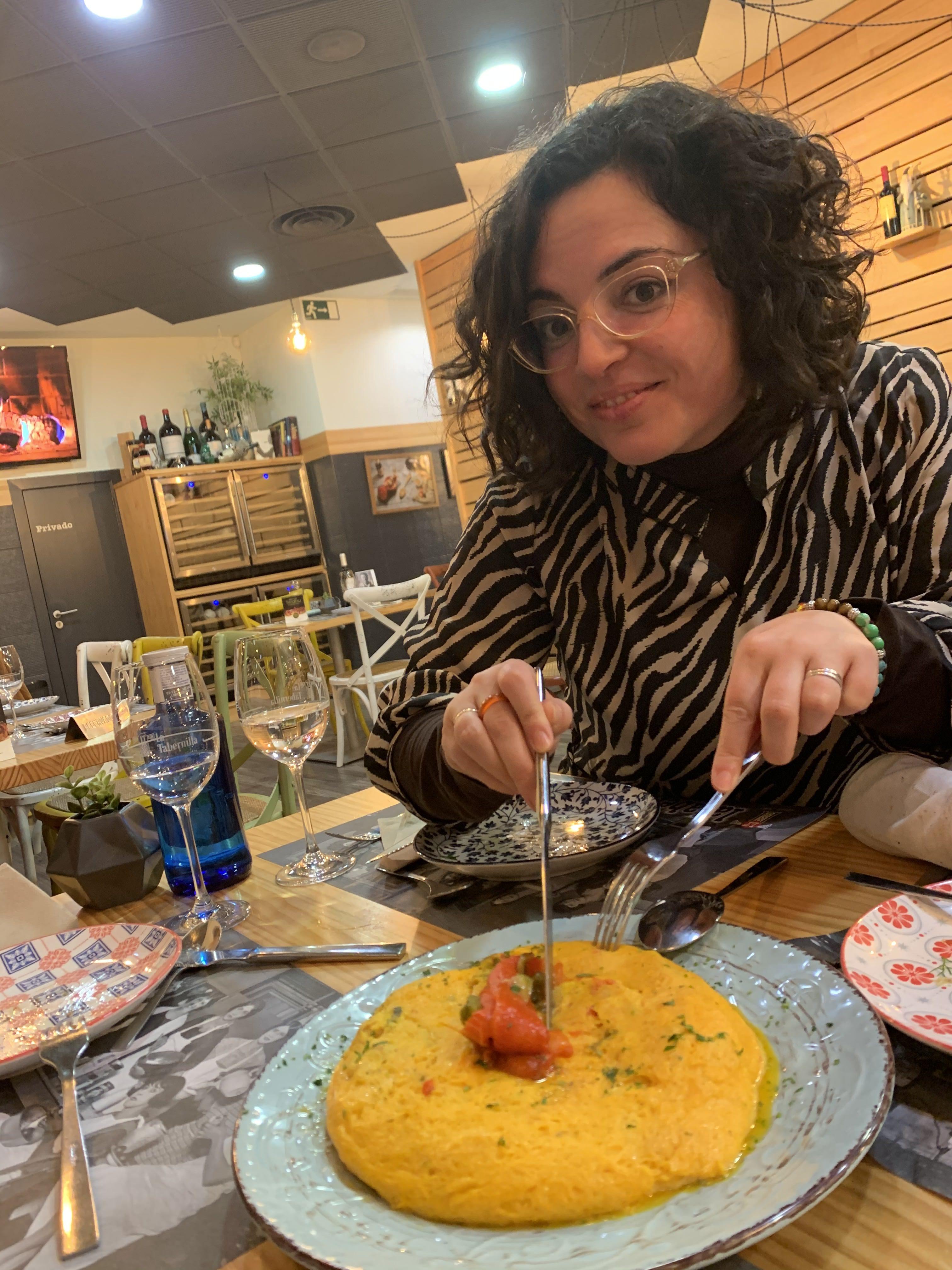 Noemí Fernández cuidándonos en Oviedo