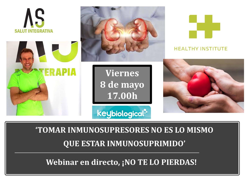 Foto promo webinar juanjo inmunosupresión