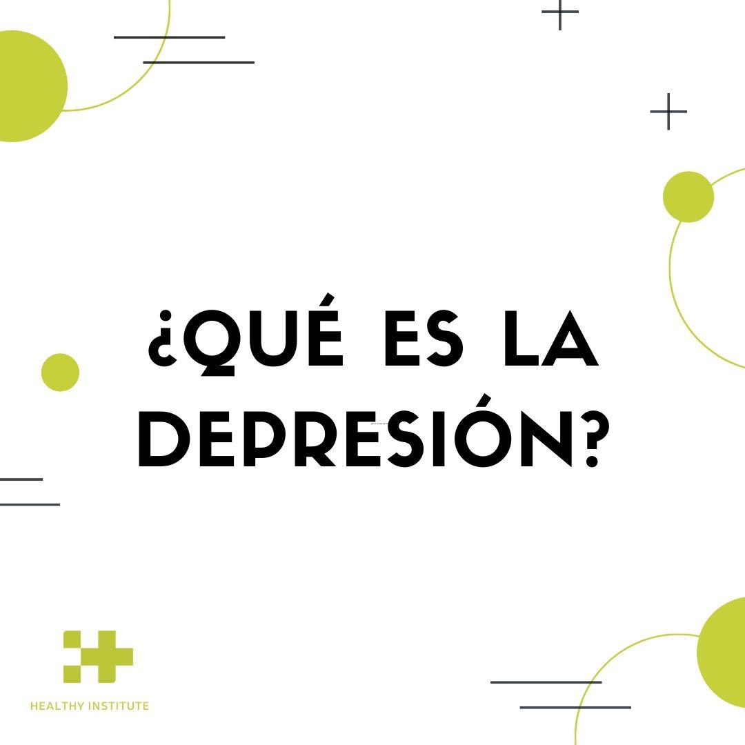 que es la depresión