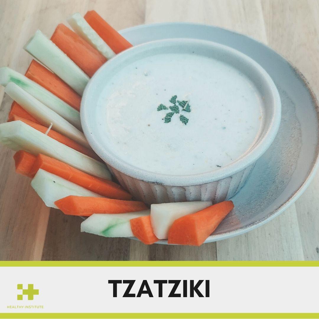 receta saludable de tzatziki