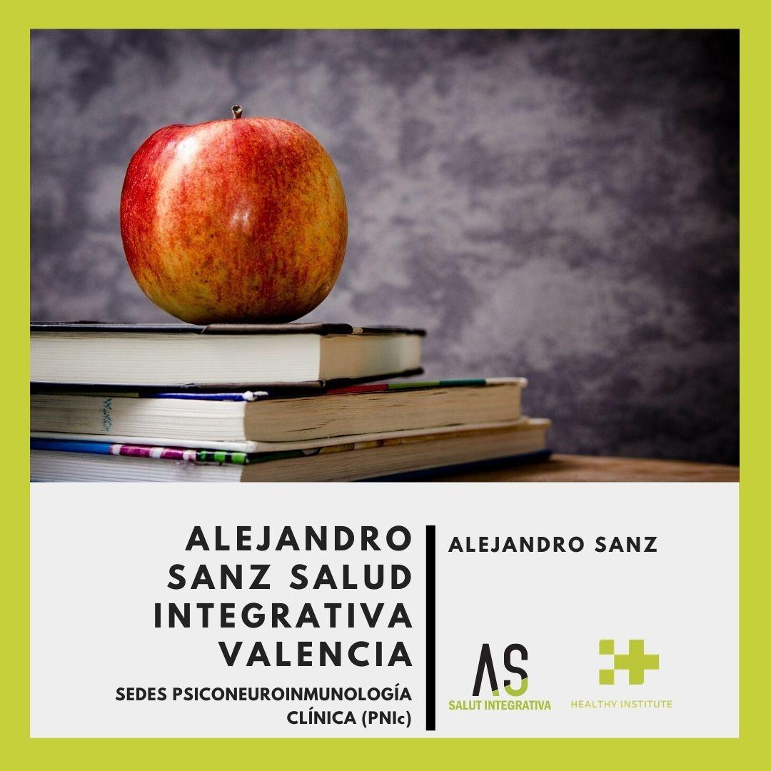 Alejandro sanz salud integrativa sede formacion psiconeuroinmunologia clinica valencia