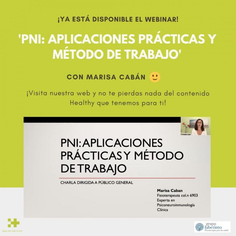 Webinar Marisa PNI ya disponible