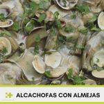 Receta alcachofas con almejas
