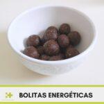 Receta bolitas energéticas sin azúcar y Saludables