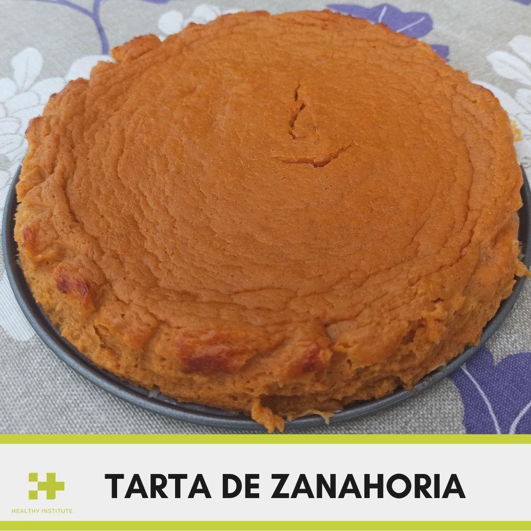 Receta Saludable sin azúcar tarta de zanahoria